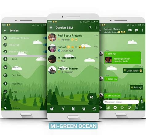 for android 2 3 apk bbm mod mi green versi 3 2 5 12 android apk sellophone