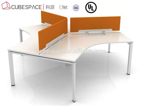 3 person office desk 3 person 120 degree office workstation office furniture