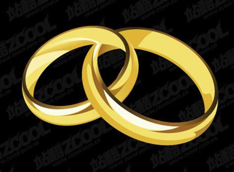 Paar Ringe Gold Günstig eps format einschlielich jpg vorschau stichwort vector
