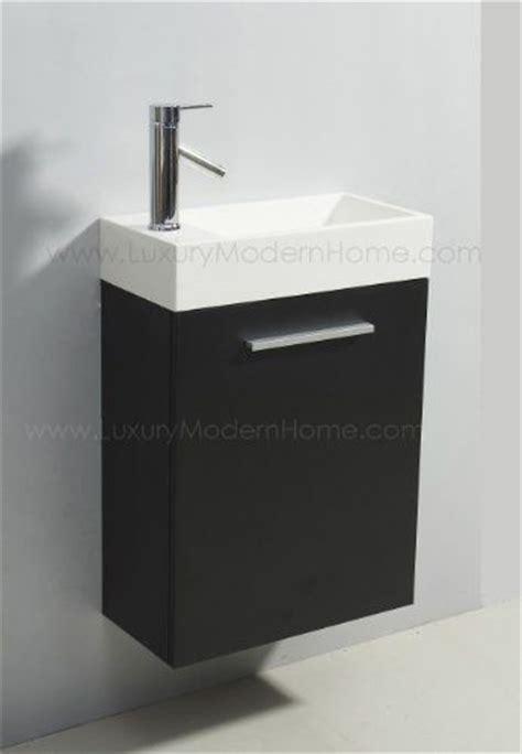wall mount acrylics and vanity sink on