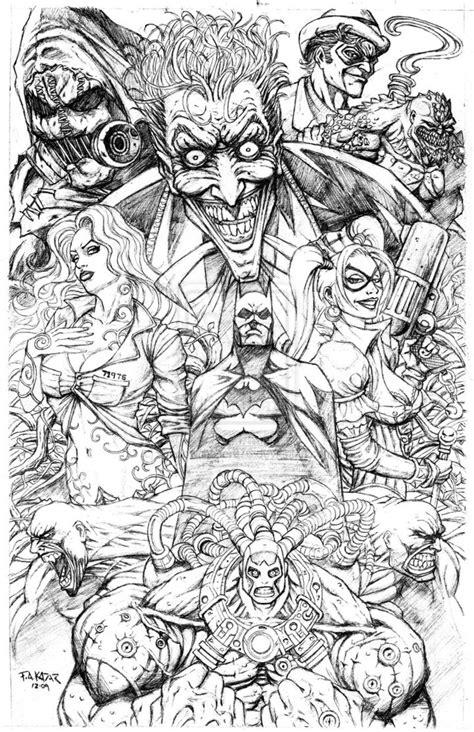 Batman Arkham Asylum Coloring Pages batman arkham asylum coloring pages depetta coloring