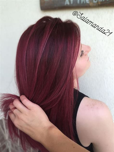 wine hair color best 20 wine hair ideas on wine colored