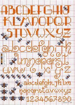 lettere punto croce corsivo alfabeti punto croce corsivo maiuscolo e minuscolo paperblog