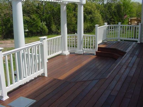 outdoor banister deck fence design how to make fence