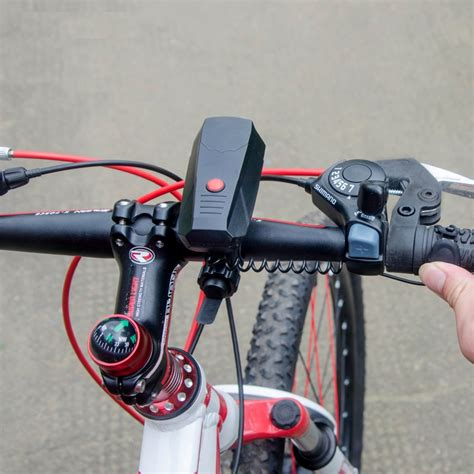 bike handle bar bell electric horn loud voice for bicycle bel sepeda black jakartanotebook