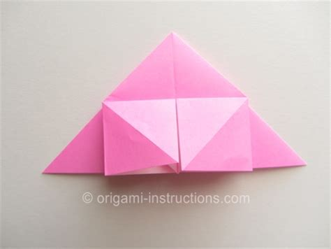 Origami Twisty - easy origami twisty folding