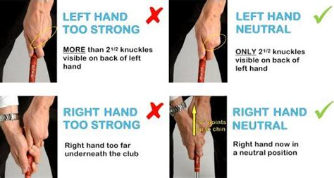 proper golf grip and swing golf grip hook jpg 548 215 293 golf pinterest golf