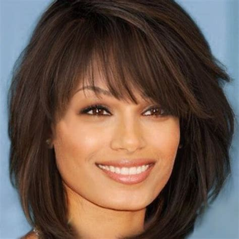 shag shaped feather styled cut the modern twist on the classic shag shaggy inverted bobs hair pinterest shaggy bobs and