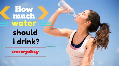 How Much Distilled Water Should I Drink To Detox by How Much Water Should I Drink Everyday