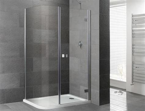 the best saving space of corner shower kits for bathrooms