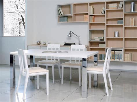 tavoli per salotti moderni tavolo semplice in legno e metallo per salotti moderni
