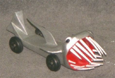 pinewood derby shark car quotes