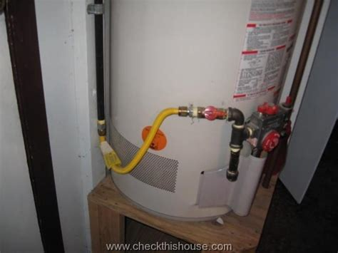 Cek Water Heater water heater gas connector gas water heater