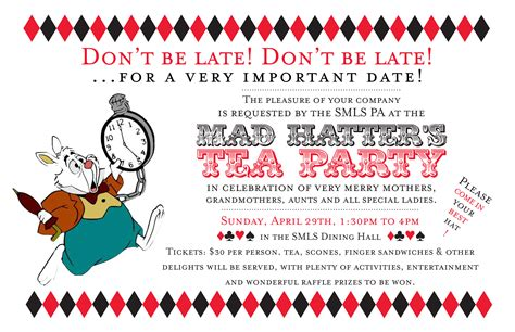 mad hatter tea invitations templates s adventures in typography a juniper berry