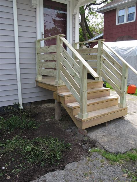 diyed  front porch railings finally outdoor