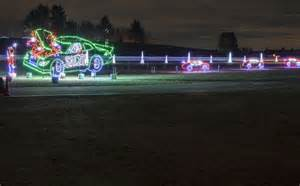 motor speedway lights gift of lights illuminates on friday headlines about