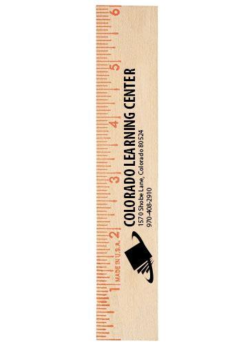 printable utm ruler custom flat wood rulers ak90406 discountmugs