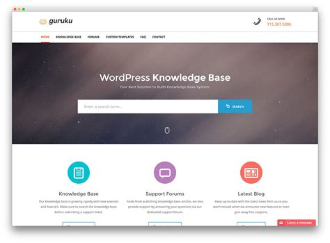 website templates for knowledge base 13 professional wordpress knowledge base themes and