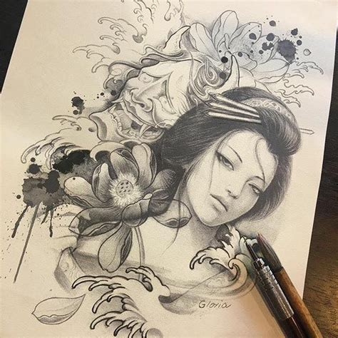tattoo gueixa oriental best 25 tatuagens gueixa ideas on pinterest tatto