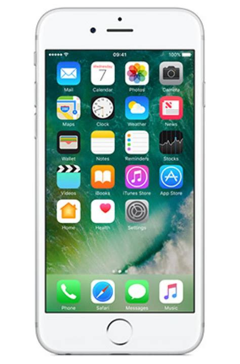 Apple Iphone 6s 32gb Silver apple iphone 6s 32gb silver best mobile phone deals on 3