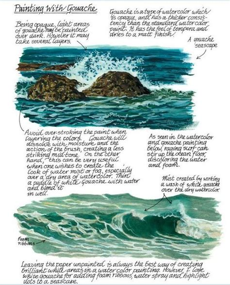 watercolor waves tutorial 1000 images about tutorials on how to paint water on