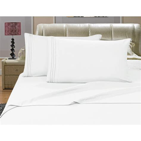 futon sheets size elegant comfort 1500 series 4 piece white triple marrow