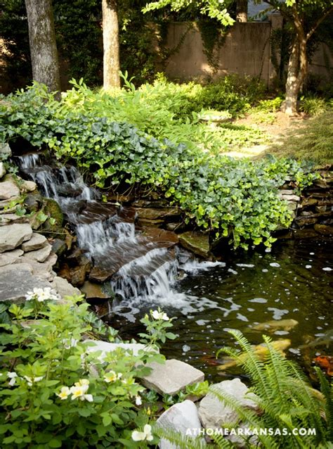 backyard pond with waterfall 63 relaxing garden and backyard waterfalls digsdigs