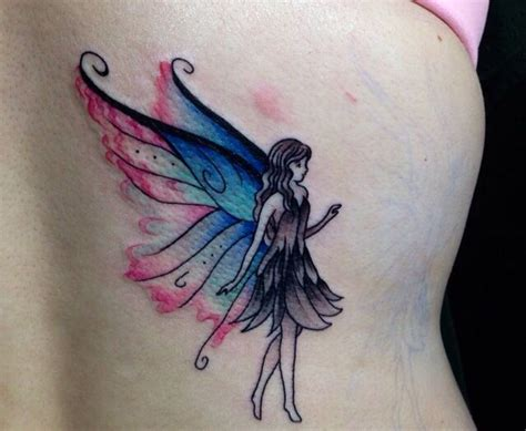 watercolor tattoo fairy watercolored we really like what they did