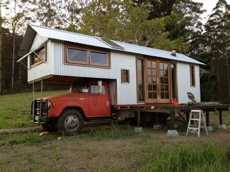 truck house housetruck that looks like a tiny house