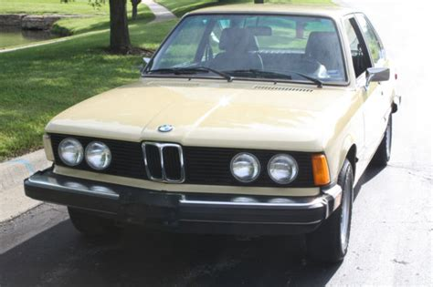 1977 bmw 320i classic 3 series 1977 bmw 320i e21 coupe yellow excellent