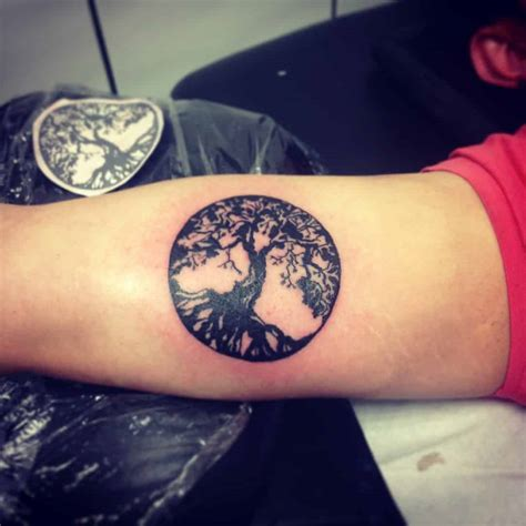 life tattoos for men tree of tattoos for ideas and inspiration for guys