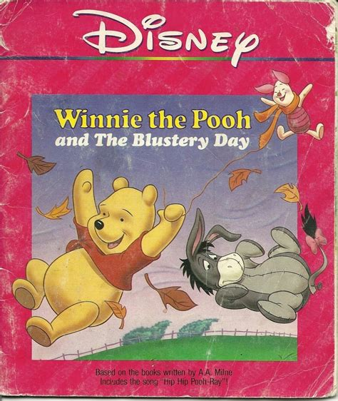 Soft Board Book Winnie The Pooh winnie the pooh and the blustery day walt disney softcover book other children adults