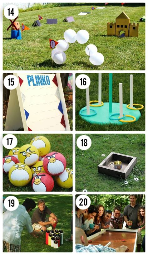 diy games 65 outdoor party games for the entire family