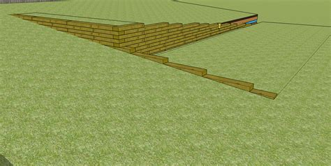 New Sleepers by How To Build A Sleeper Retaining Wall Mcnee