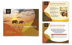 Indian Wedding Card Ideas African Safari Powerpoint Presentation Template Design