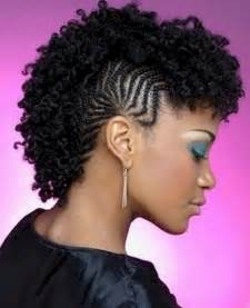 Braided mohawk hairstyles for black hair 2015 with pictures for women