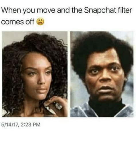 move   snapchat filter