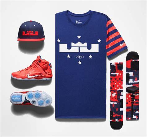 nike lebron 12 4th of july clothing sportfits