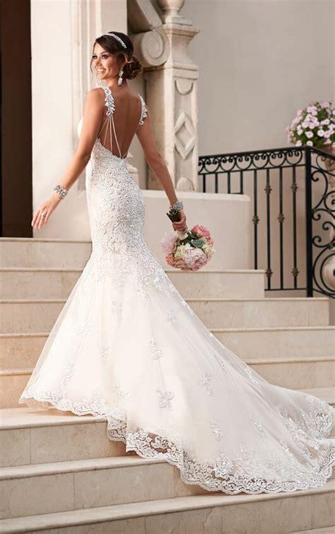 fit and flare wedding dress stella york