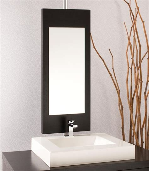 bathroom mirror z mirror modern bathroom mirrors montreal by wetstyle