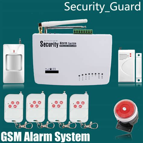 free shiping gsm alarm system home security alarm system