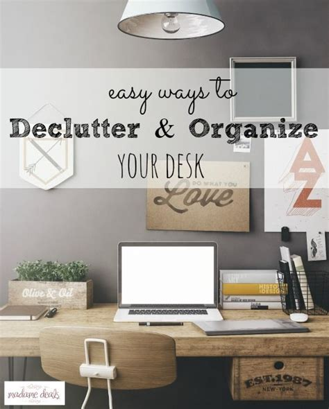 111 Best Images About Home Office On Pinterest White Ways To Organize Your Desk
