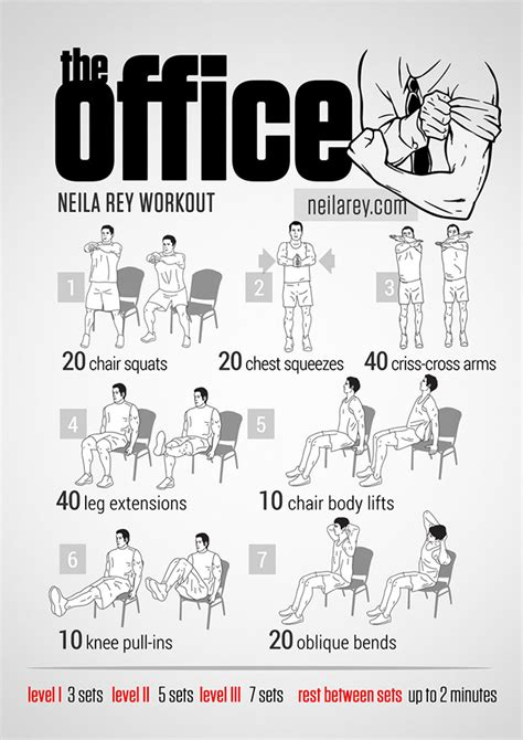 Exercises To Do At Your Desk For Abs Visual Workout Posters Inspired By Popular Tv