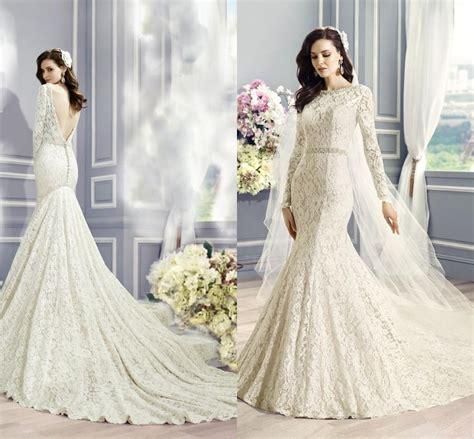 mermaid l for sale cheap vintage lace mermaid wedding dresses long sleeve