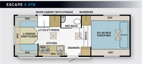 hi lo travel trailer floor plans hi lo cer floor plans best deals on trailers cers