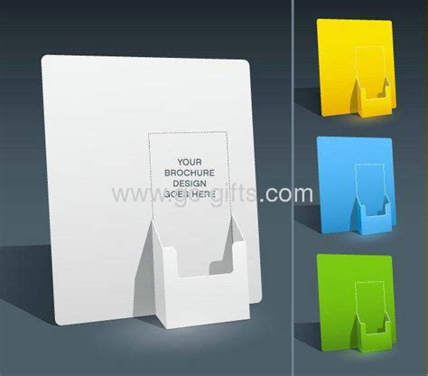 brochure holder template the sales blank brochure holder template for