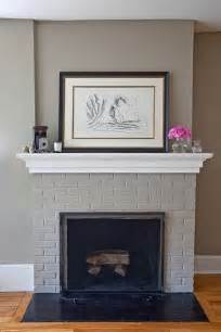 kamin farbe 17 best ideas about painted brick fireplaces on