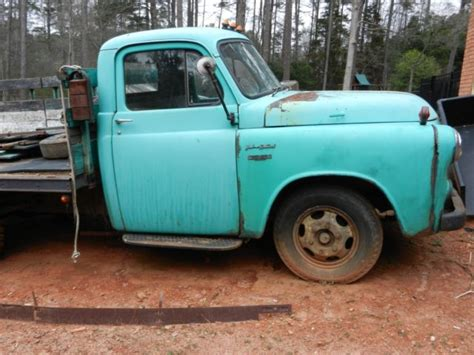 dodge stake bed truck 1954 dodge 1 ton stake bed truck for sale