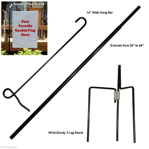 Garden Flag Stand Garden Flag Stand Adjustable Your Garden Flag Stand