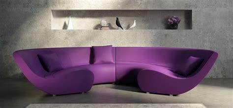 purple sofa and yellow walls sofa ideas interior